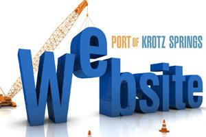 Port of Krotz Springs Launches New Web Site
